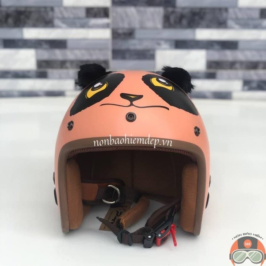Non Bao Hiem Panda Gau Truc Mau Cam (1)