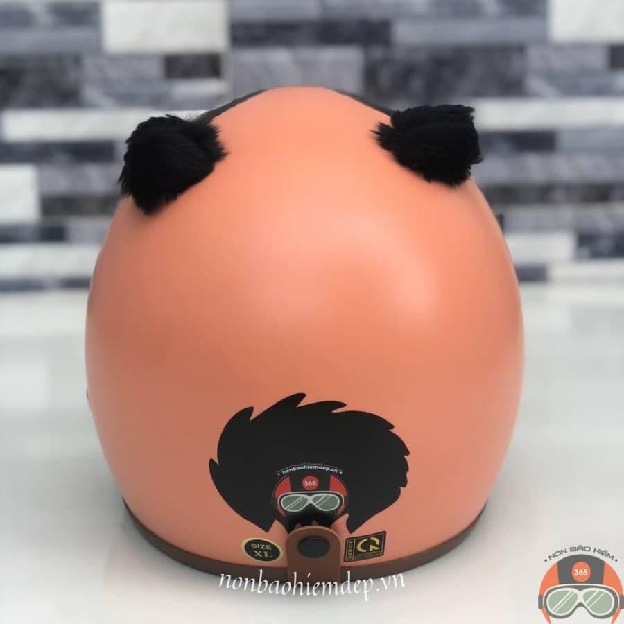 Non Bao Hiem Panda Gau Truc Mau Cam (3)