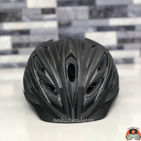Non Bao Hiem Xe Dap Fornix Pro X1 Den Carbon (10)