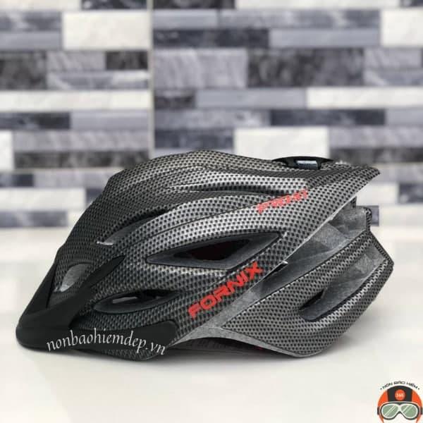Non Bao Hiem Xe Dap Fornix Pro X1 Den Carbon (11)