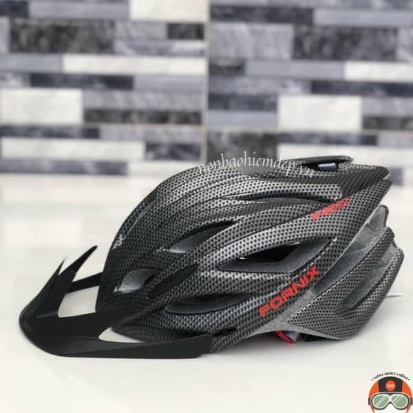 Non Bao Hiem Xe Dap Fornix Pro X1 Den Carbon (9)