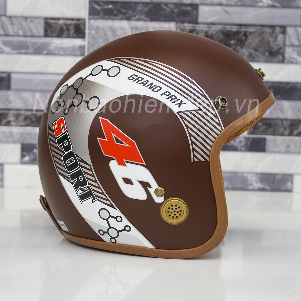 Non Bao Hiem Dep 3 4 Dau Duc Huy Tem Racer (11)