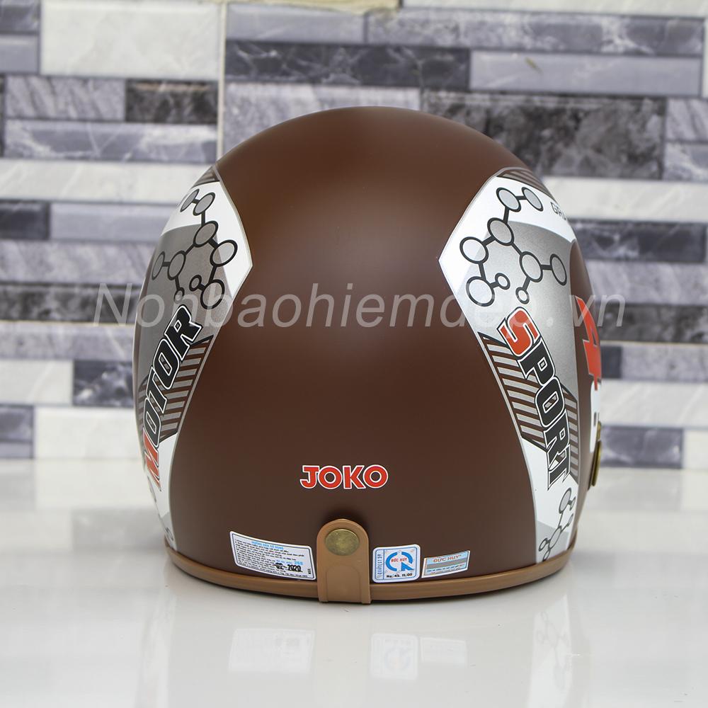 Non Bao Hiem Dep 3 4 Dau Duc Huy Tem Racer (12)