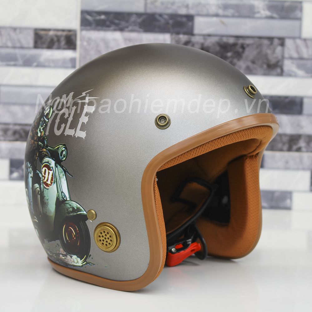 Non Bao Hiem Dep 3 4 Dau Duc Huy Tem Racer (6)