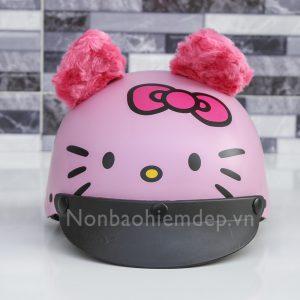 Non Thu Cung Nua Dau Meo Kitty (5)