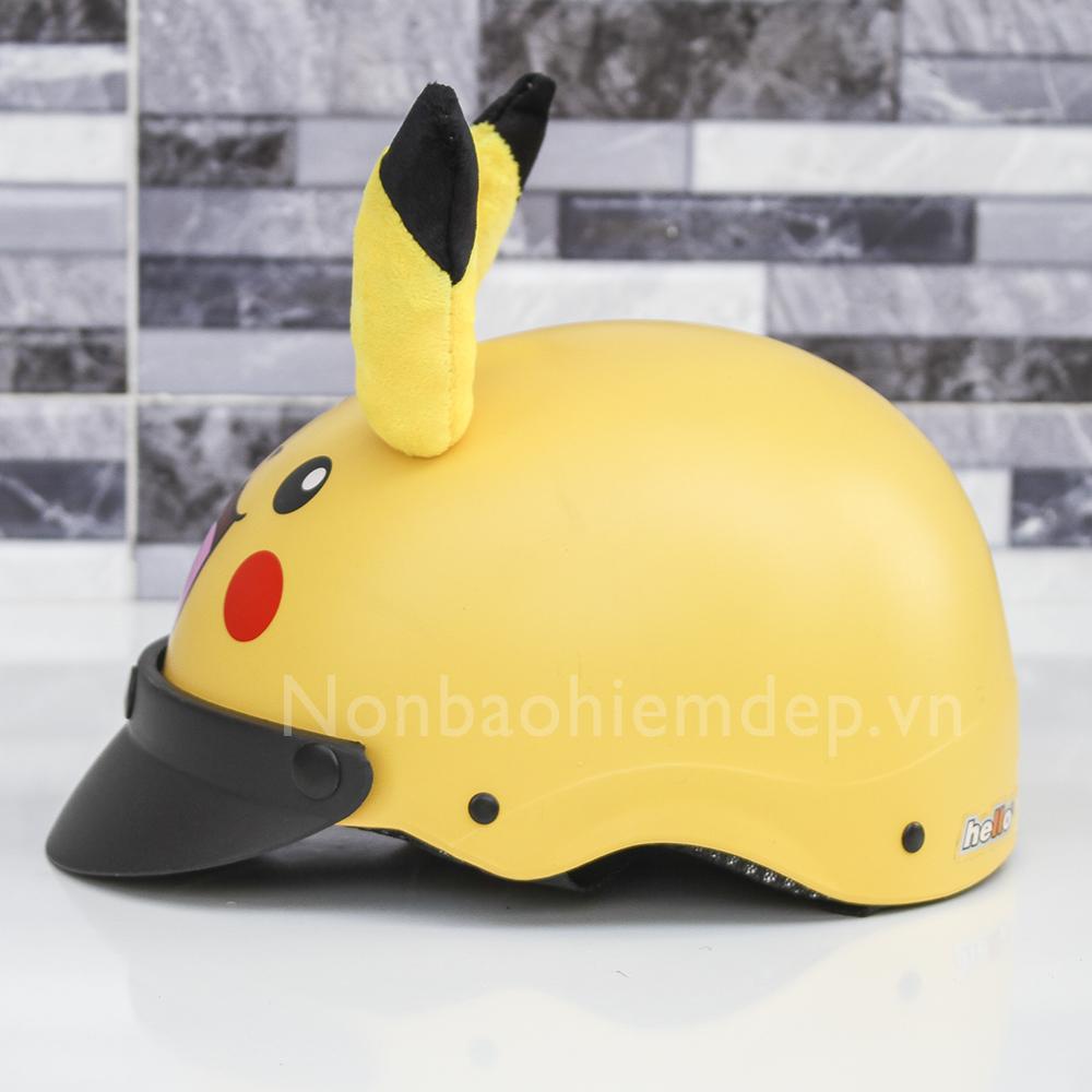 Non Thu Cung Nua Dau Pikachu (3)