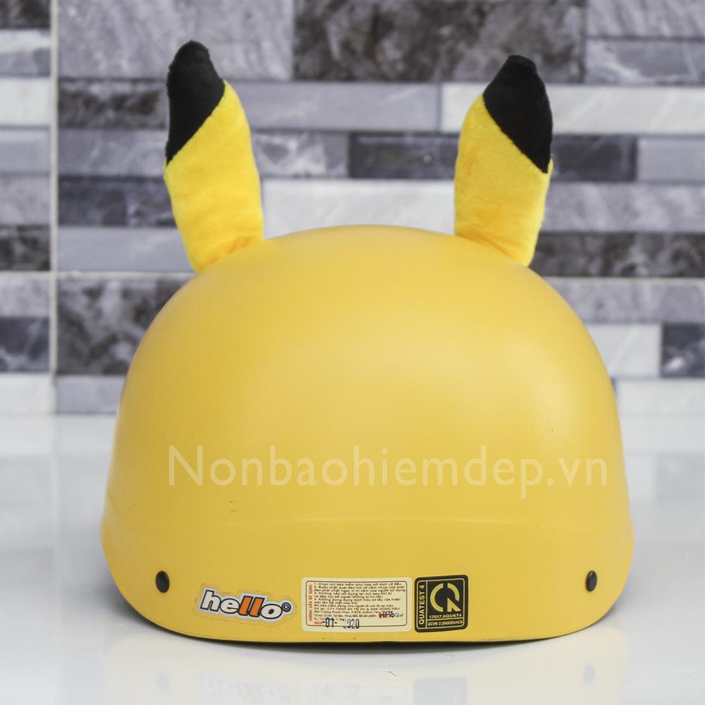 Non Thu Cung Nua Dau Pikachu (4)