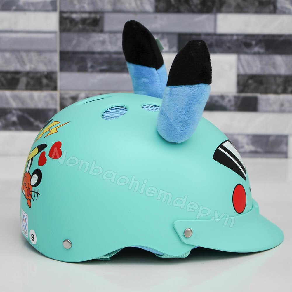 Non Bao Hiem Pikachu Nua Dau Cho Tre 3 8 Tuoi (1)