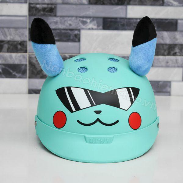 Mu Bao Hiem Pikachu Nua Dau Cho Tre 3 8 Tuoi (2)