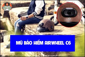 Non Bao Hiem Gan Camera Hanh Trinh Airwhell C6 2
