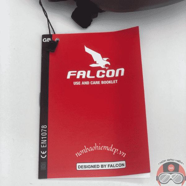 Non Xe Dap Poc 05 Falcon Nho Gon Mau Xam Dong (13)